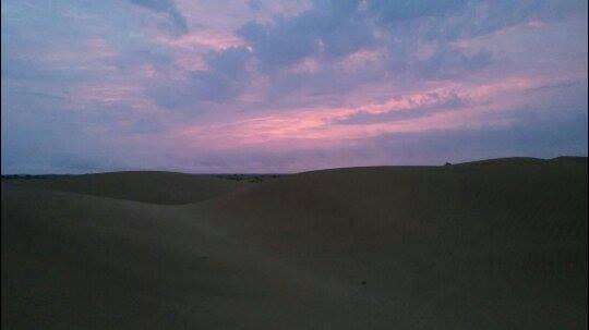 Deserto del Thar, alba