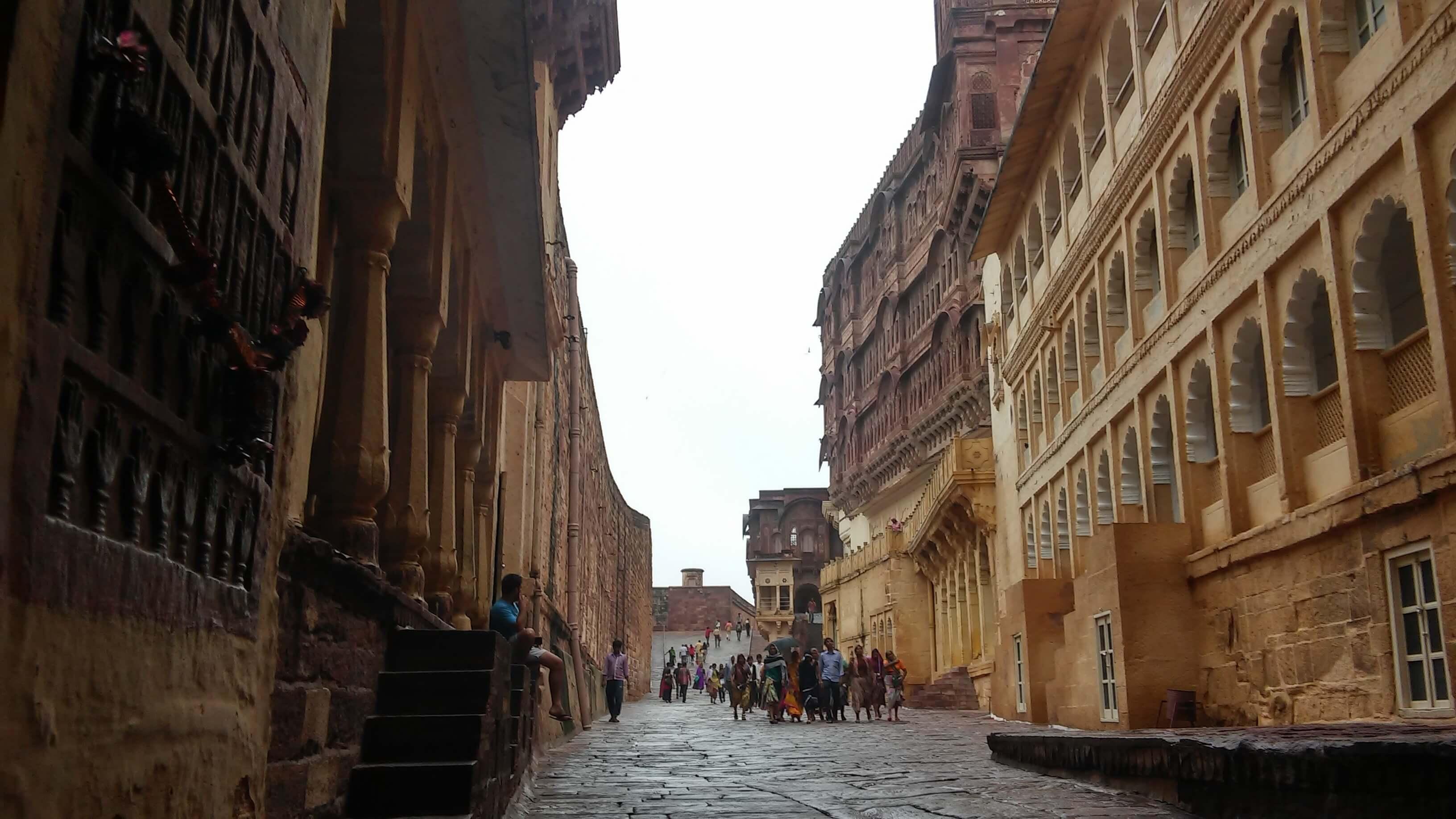 La città blu del Rajasthan: Jodhpur, il forte