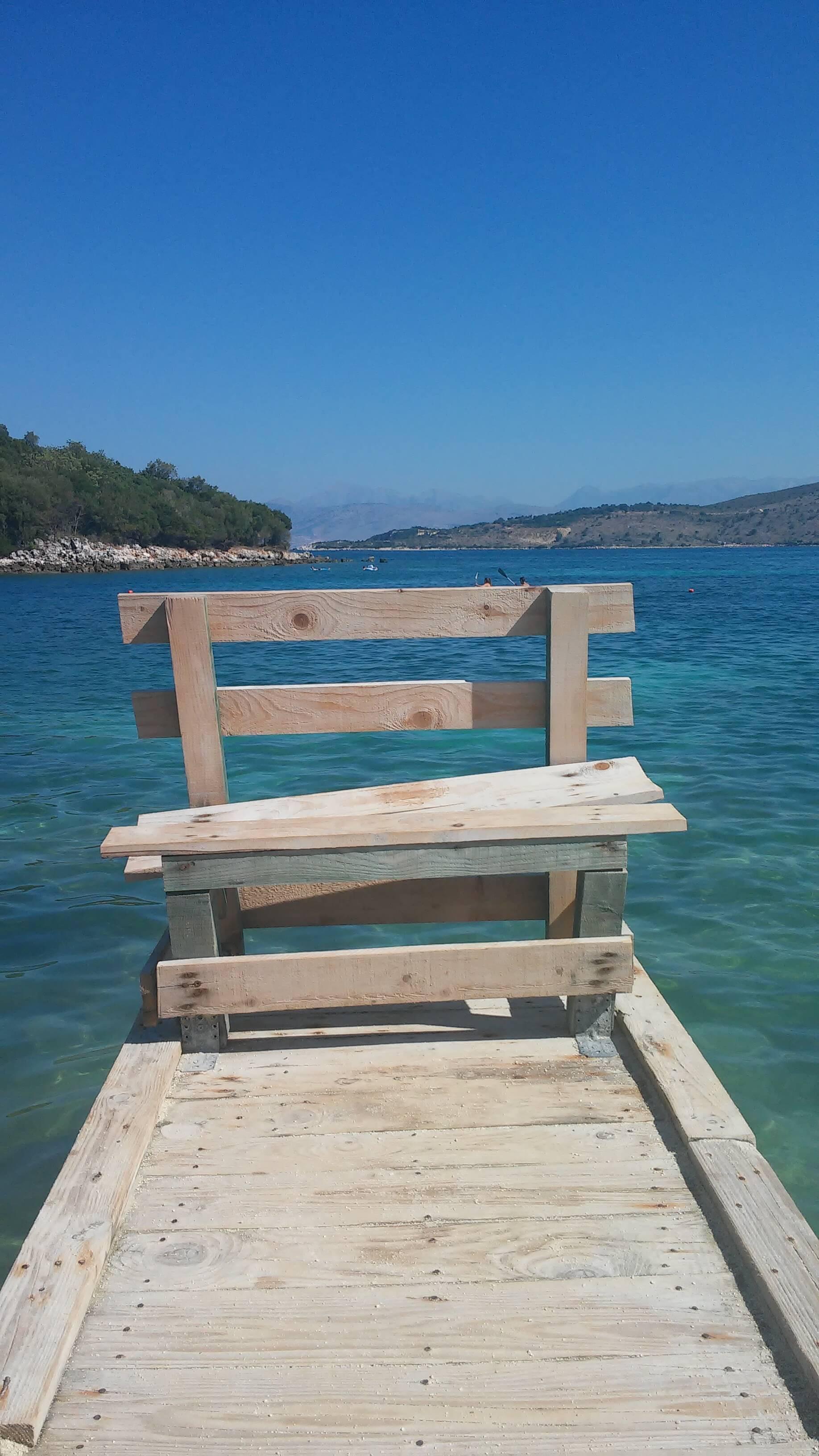 Spiaggia Ksamil, Albania