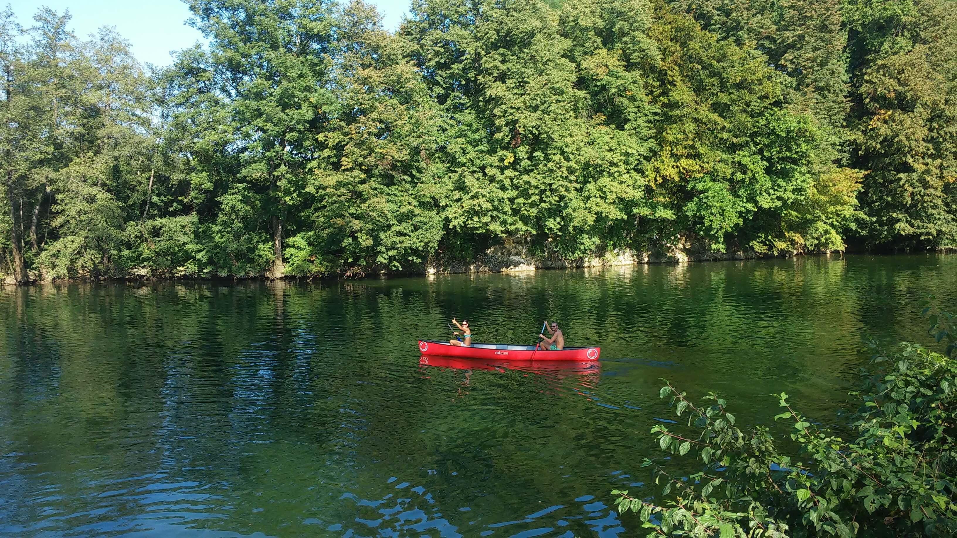 Slovenia, il fiume Kolpa