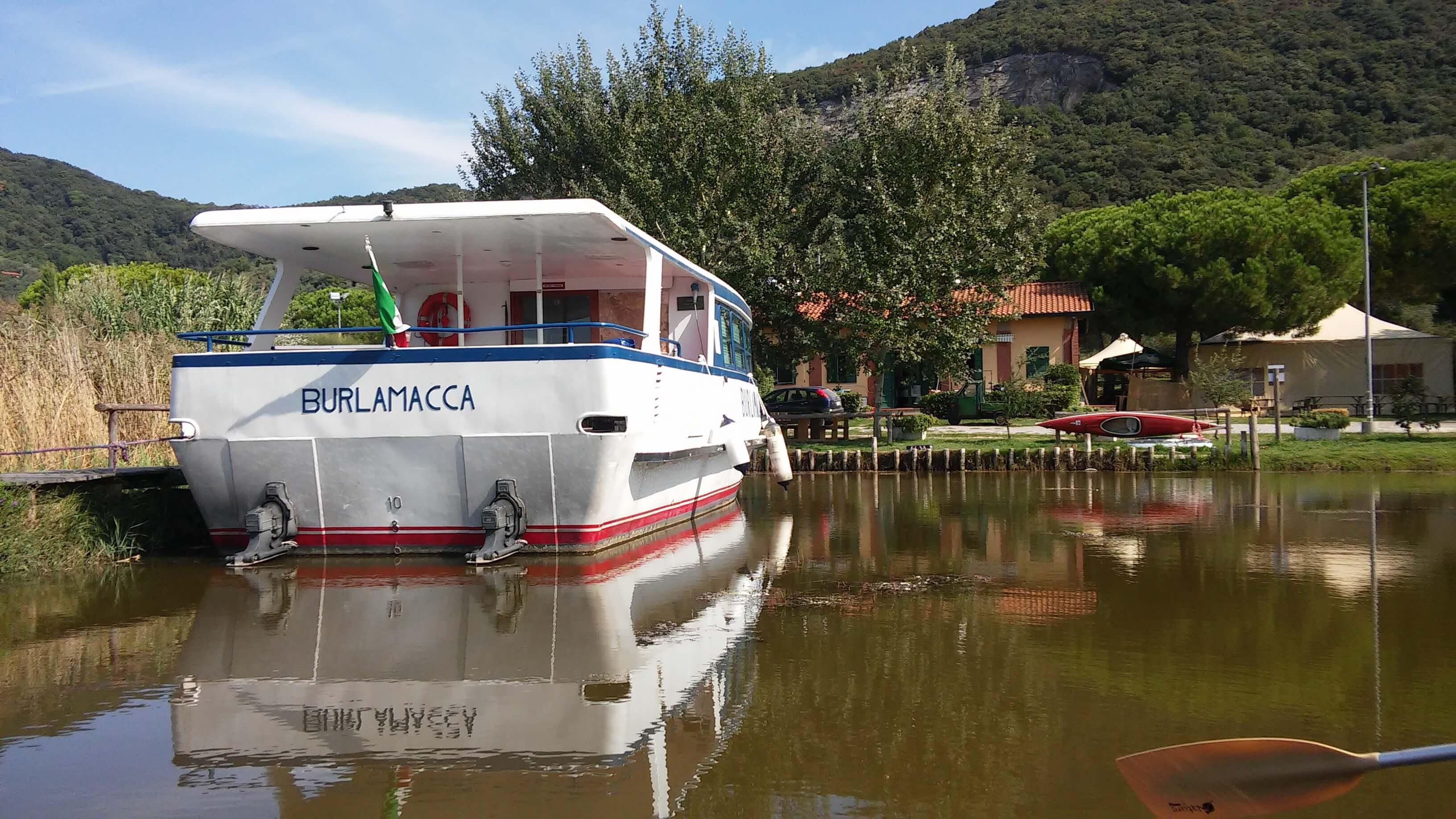Lago Di Massaciuccoli, Oasi Lipu, il punto ristoro sul lago