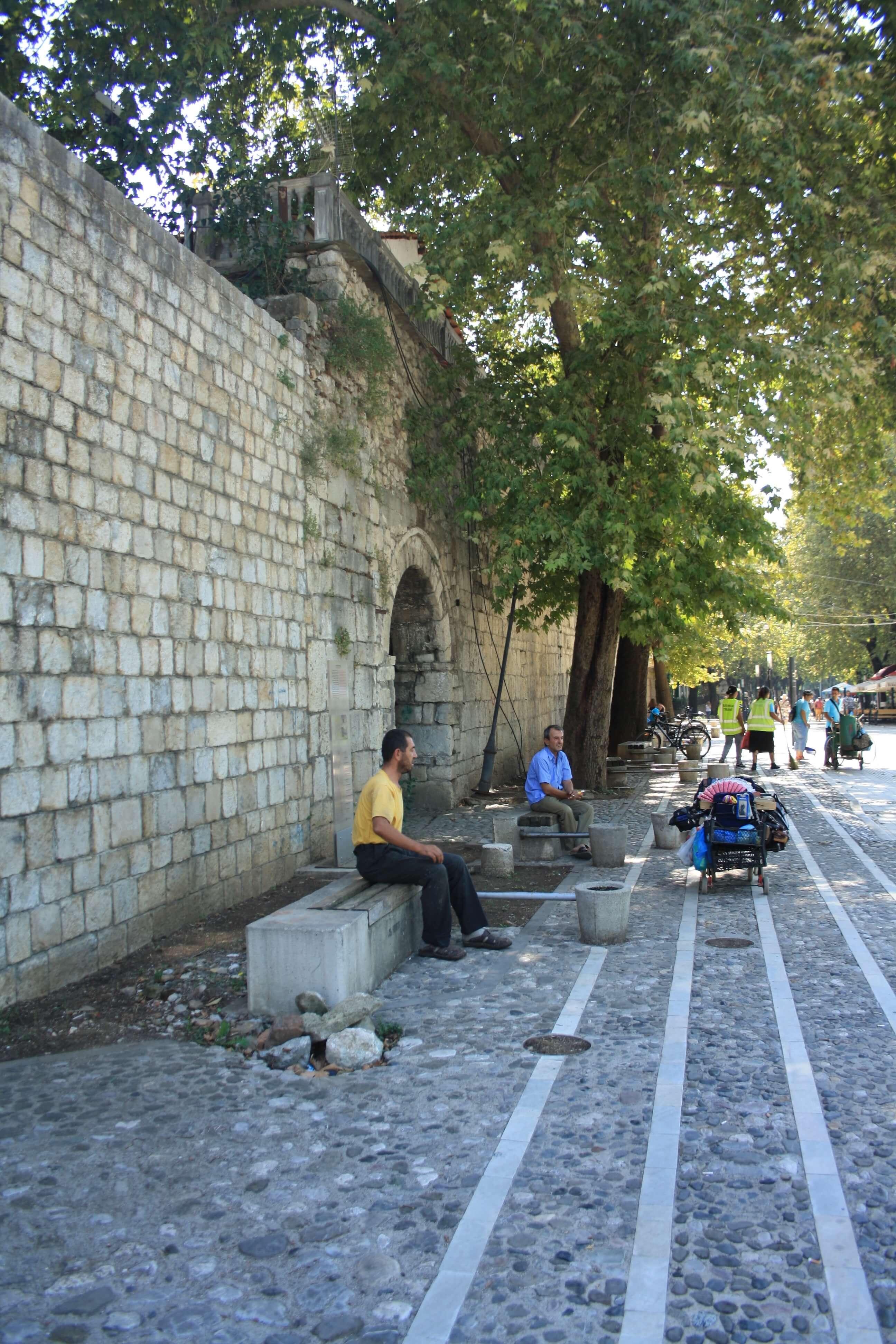 Fortezza di giustiniano Tirana Albania