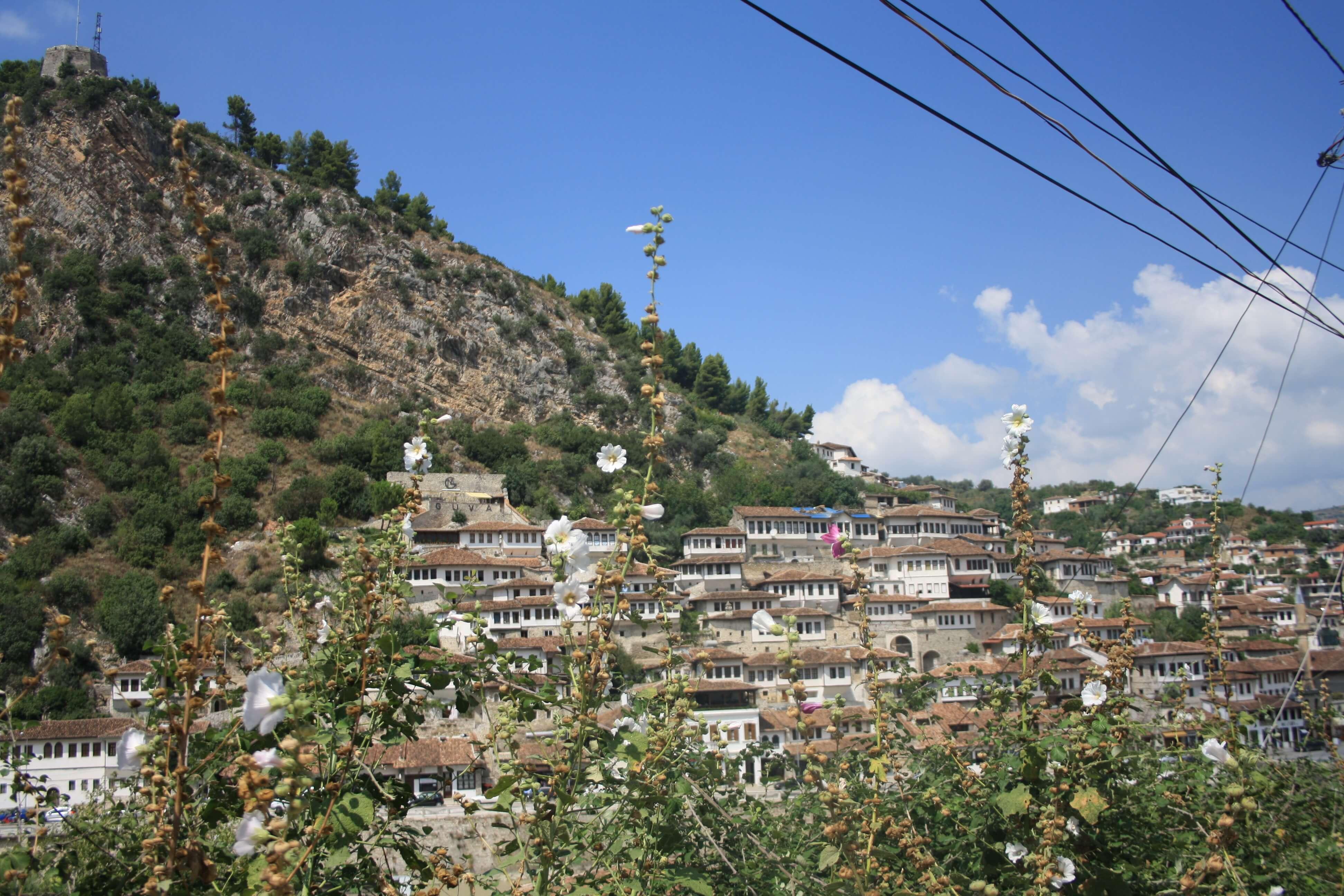 Berat Albania vista da Gorica
