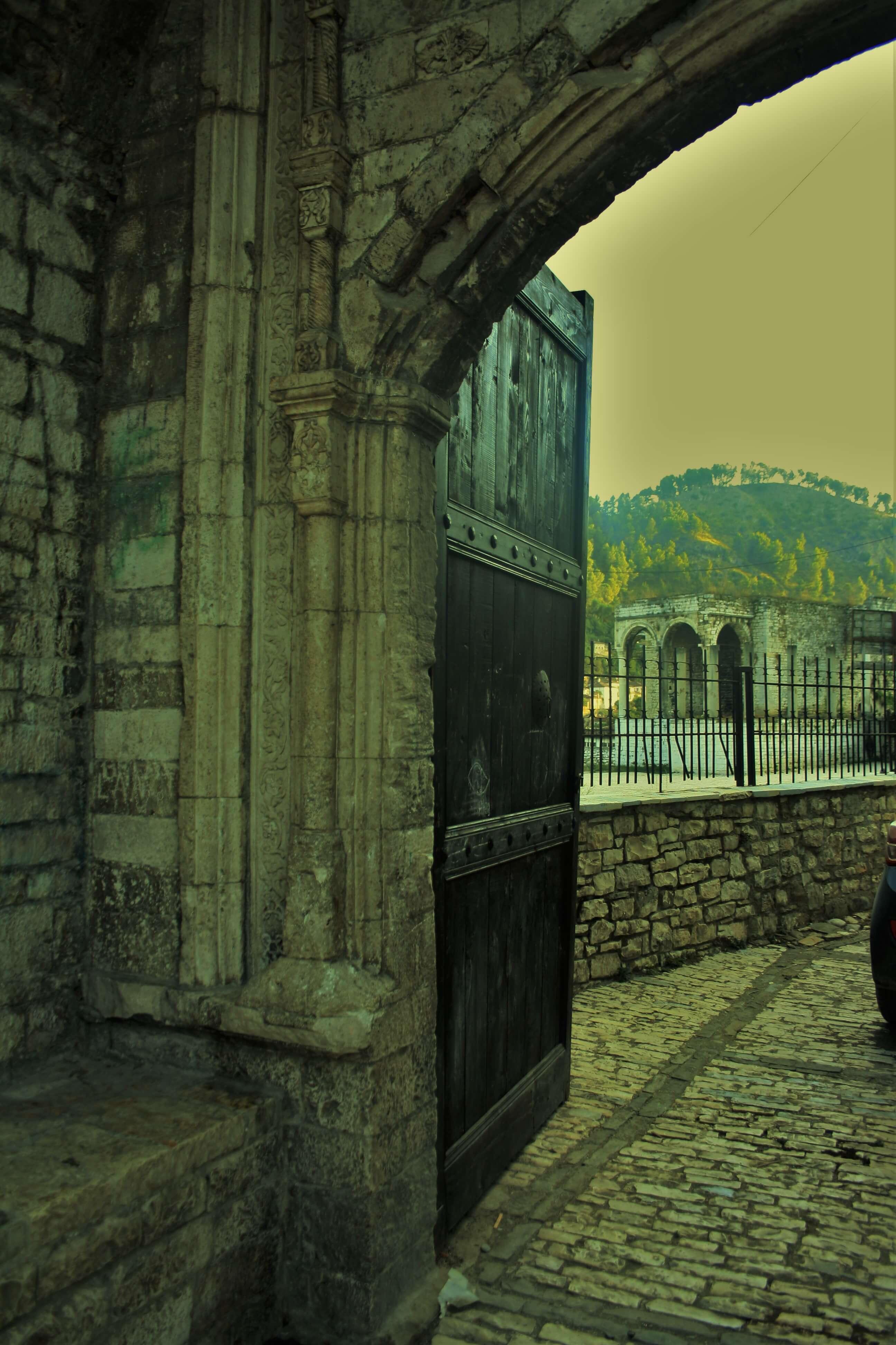 Berat Albania Cittadella Castello kala
