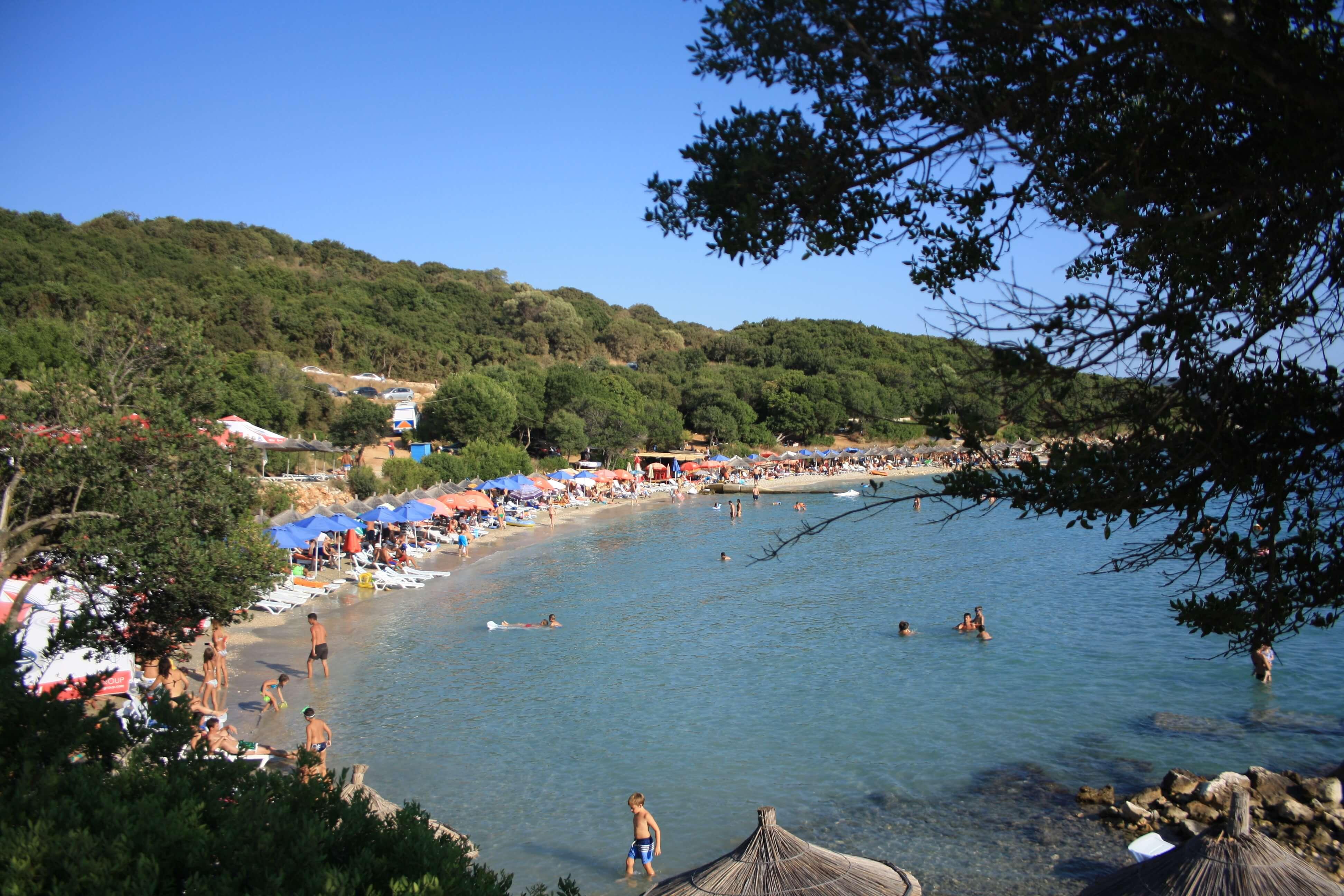Ksamil Albania spiaggia Pema e Thate