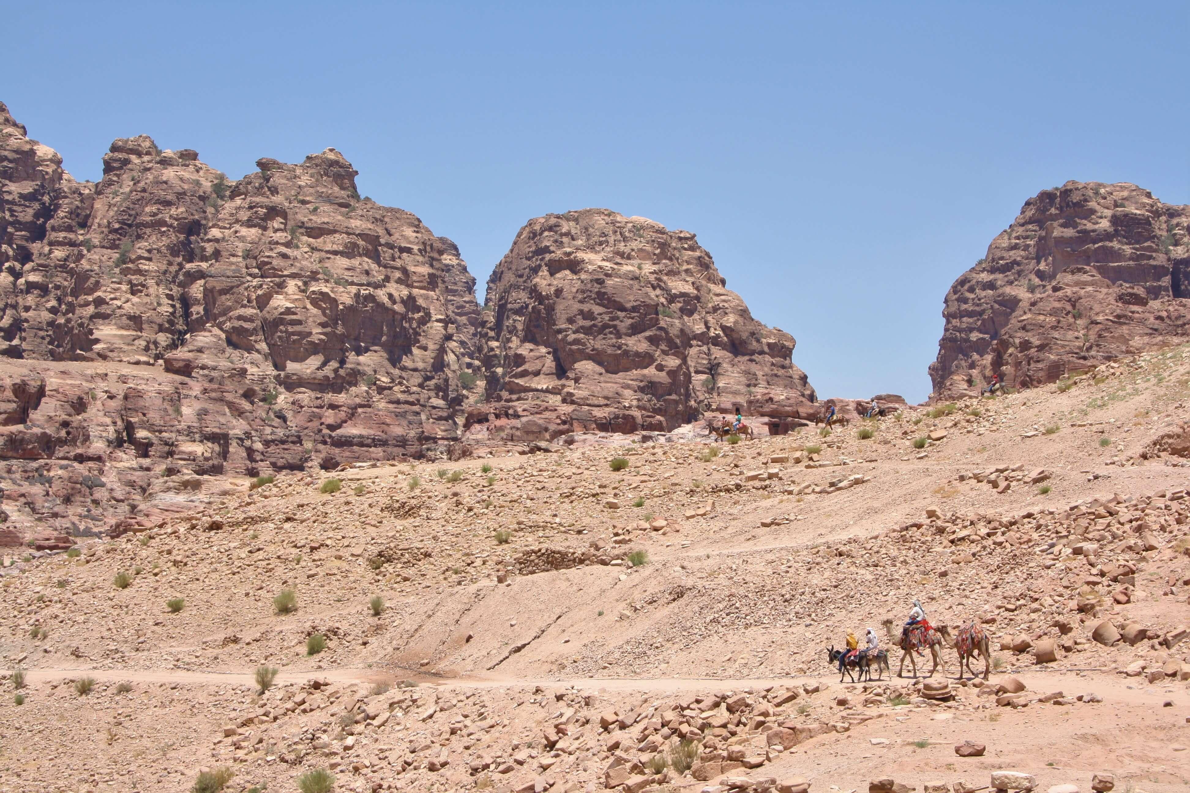 Petra, il salto dei beduini