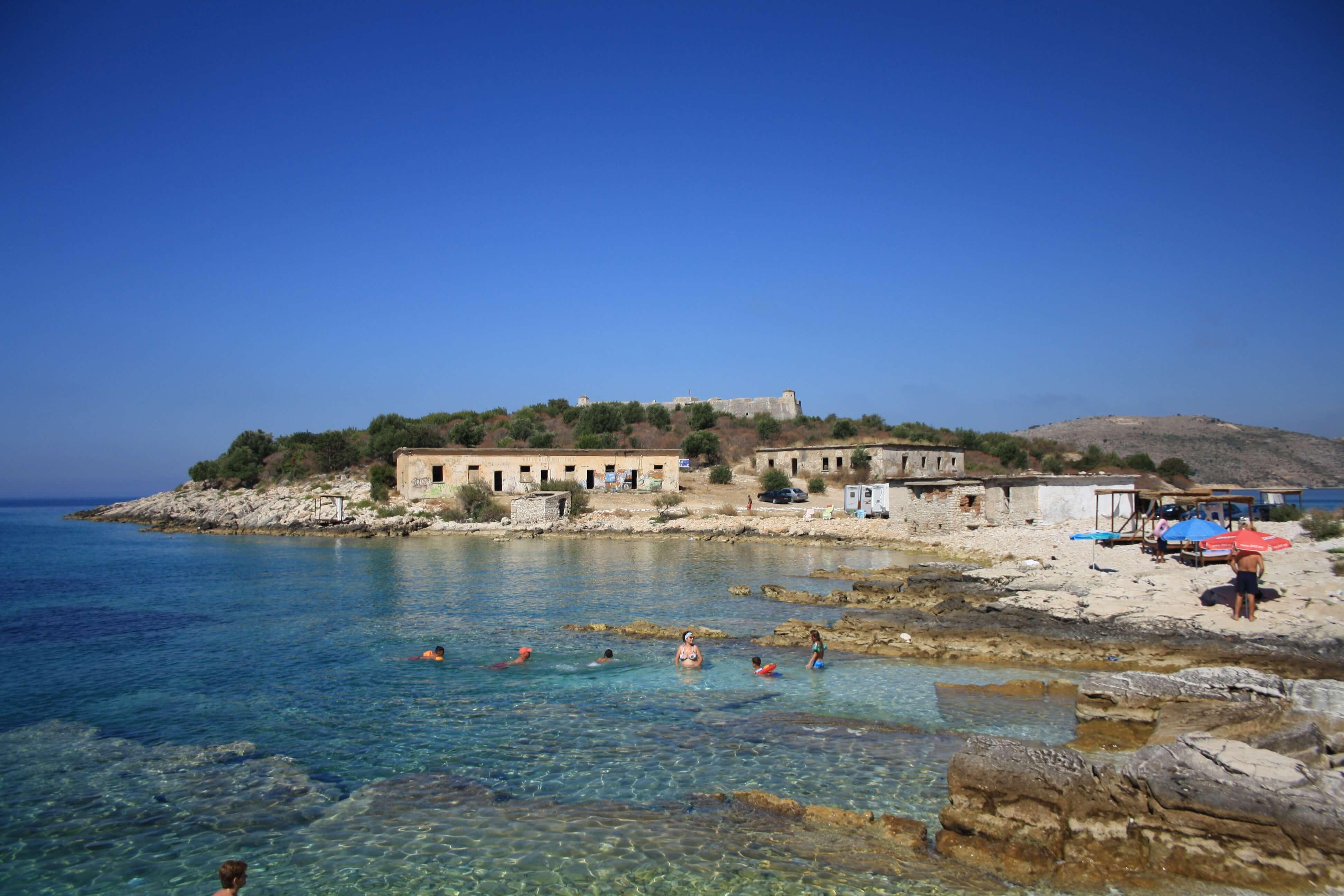 Spiaggia Porto Palermo Albania
