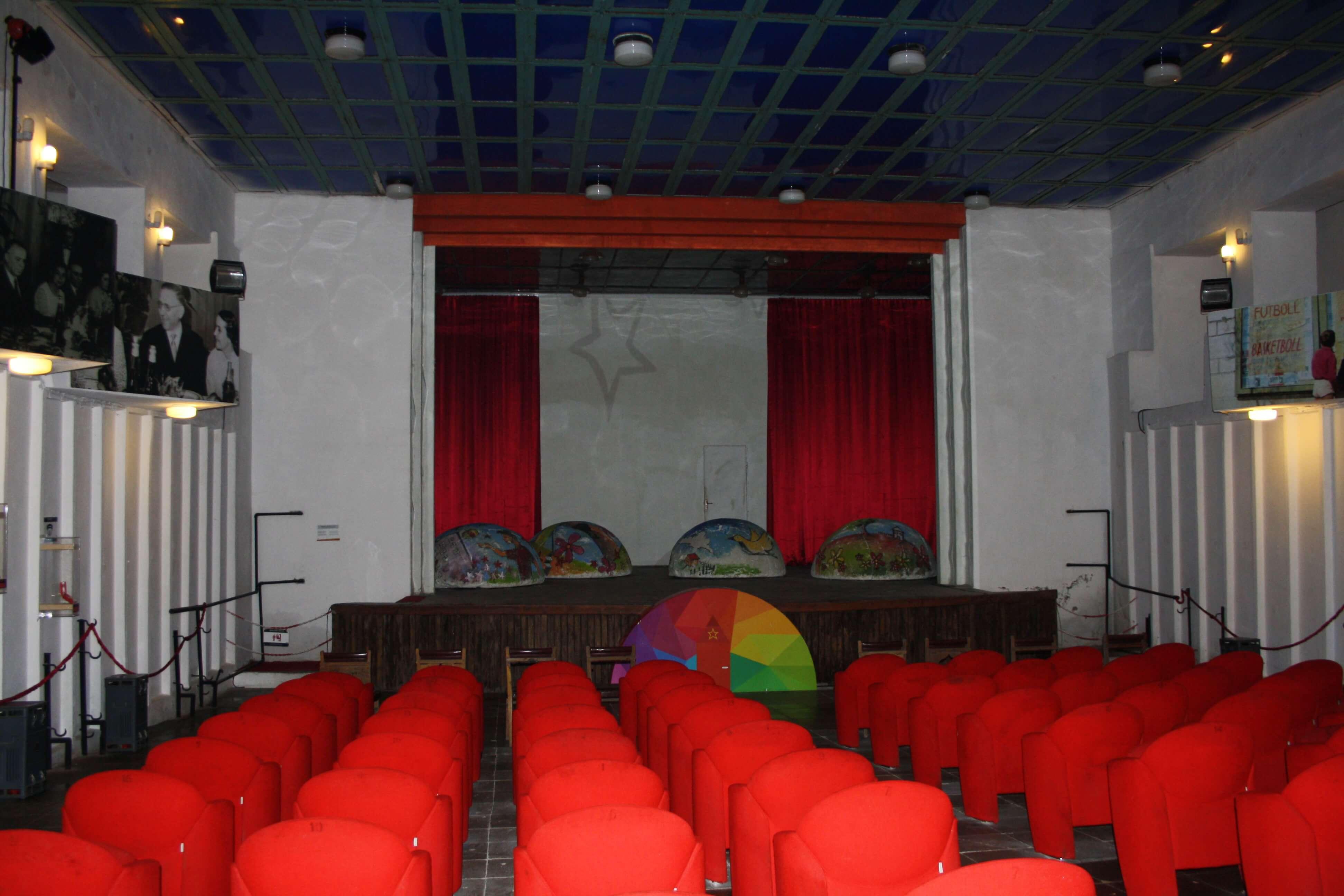 Sala del parlamento Bunk'art Tirana