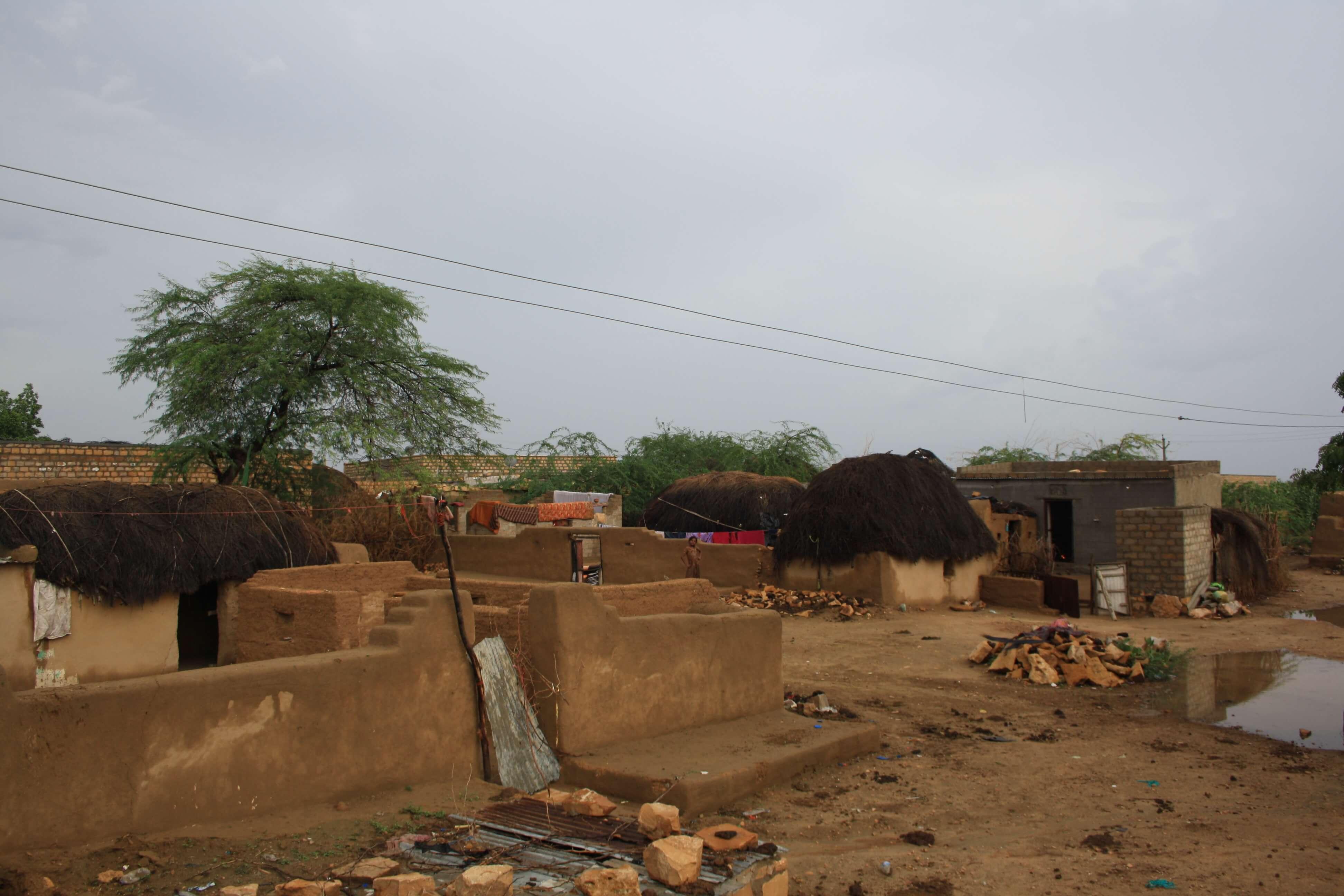 il villaggio di Khuri, deserto del Thar