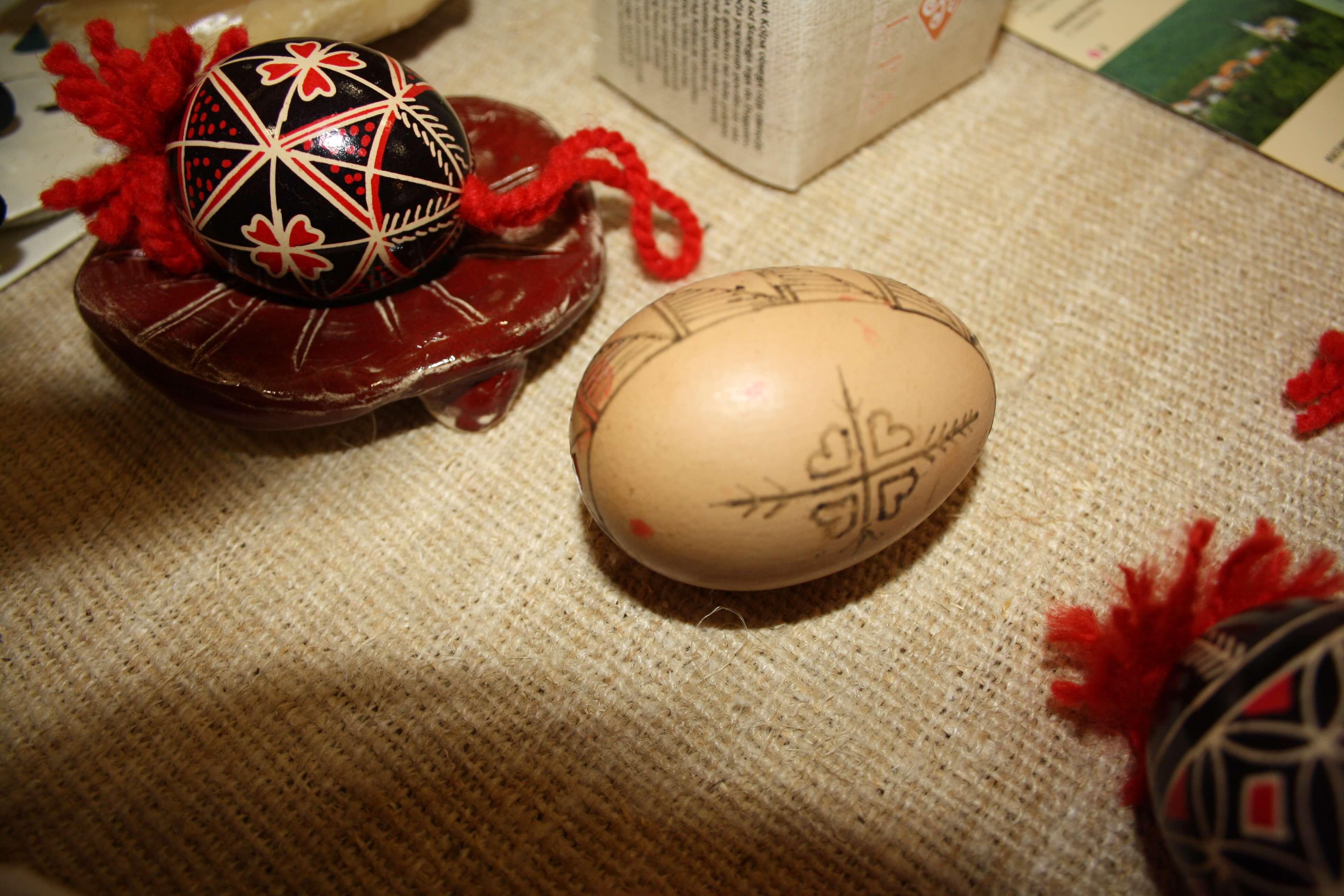 Bela Krajina, processo di decorazione delle uova
