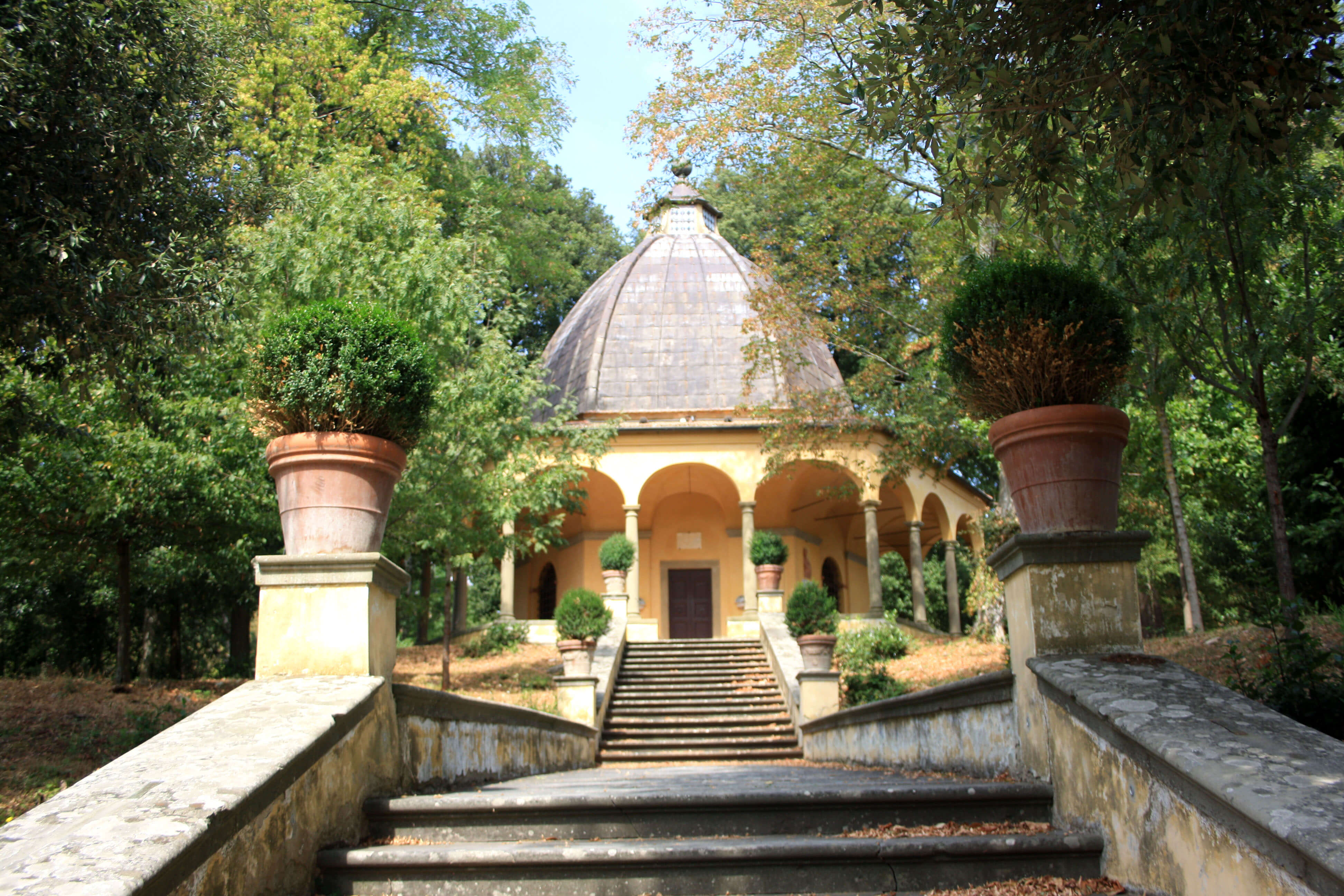 Villa Deminoff e il Gigante del Pratolino