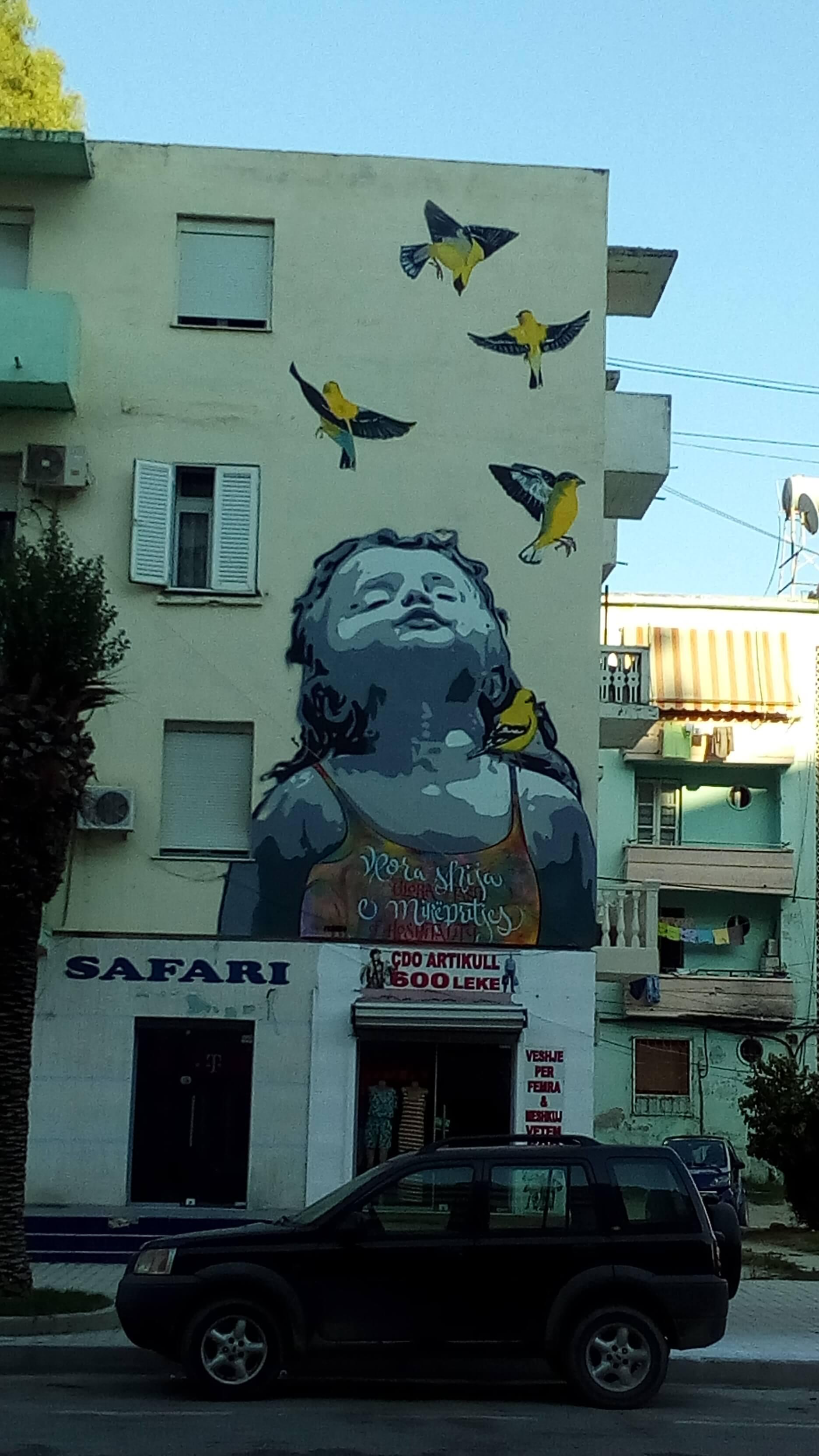 Murales Valona Albania