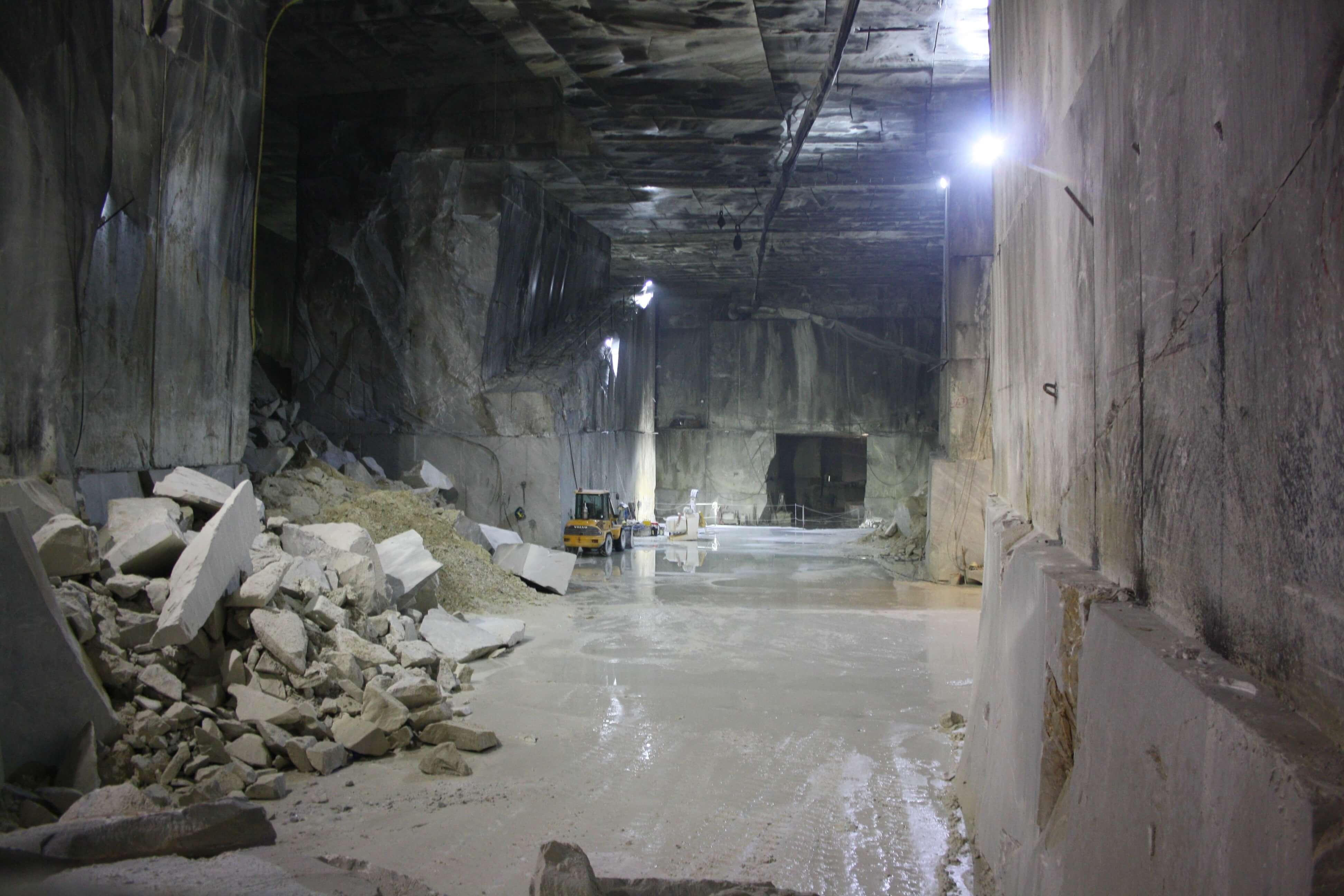 Toscana underground: Marmo Tour