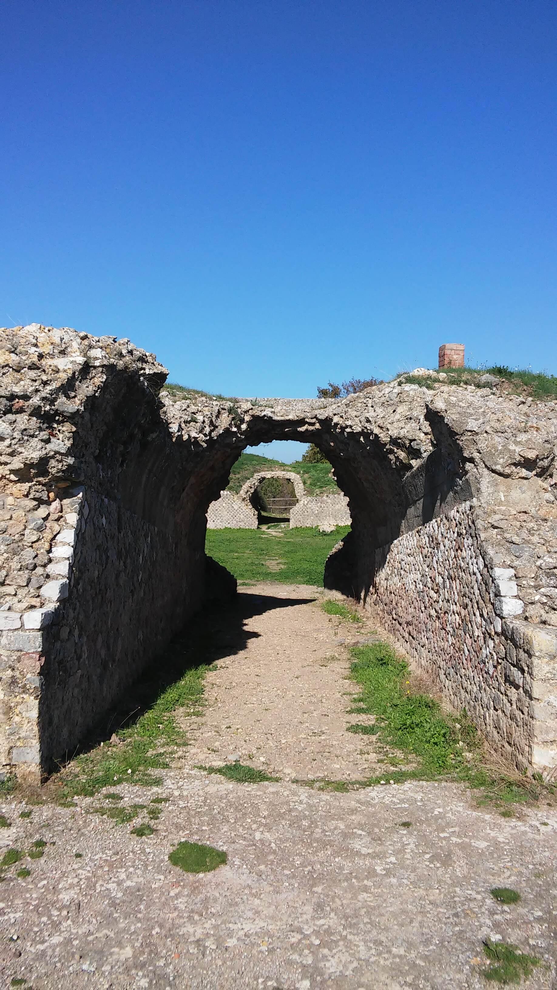 Roselle, vomitorium anfiteatro