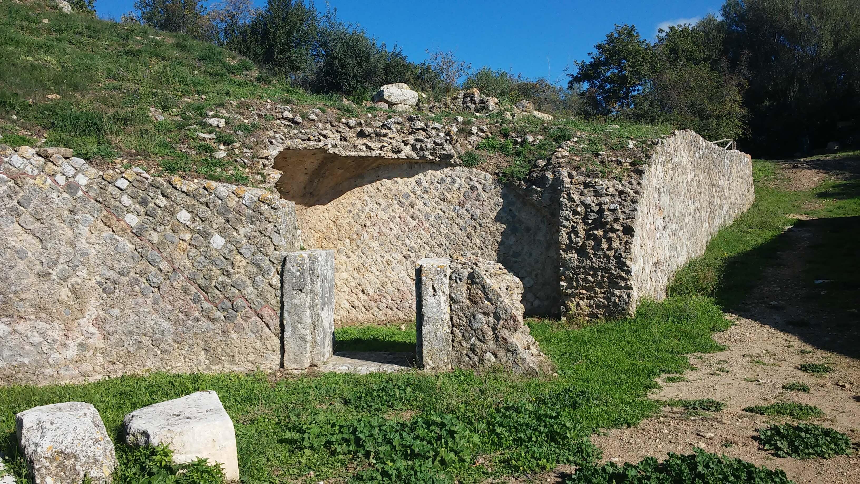 Roselle, particolare anfiteatro