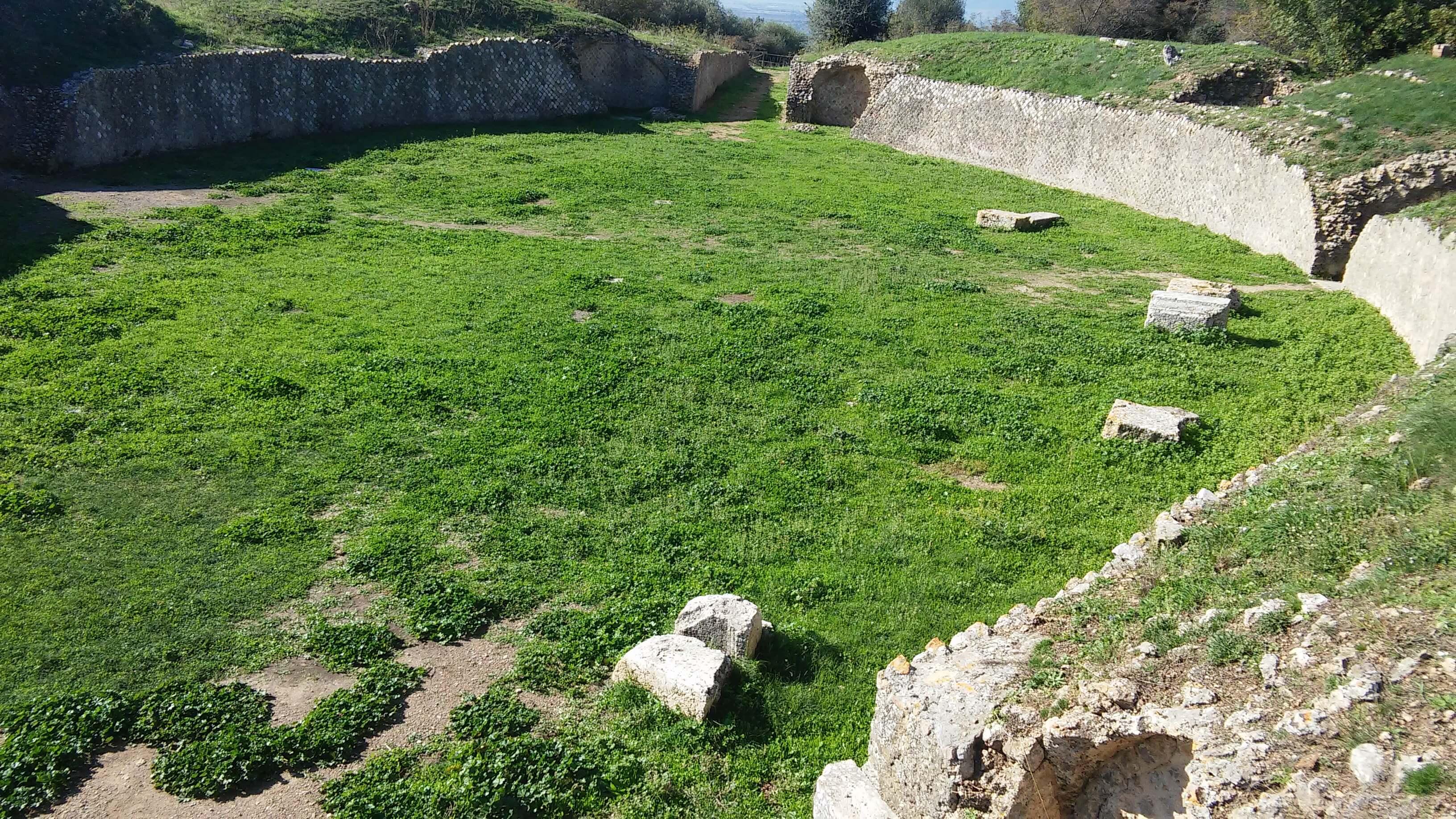 Roselle, anfiteatro
