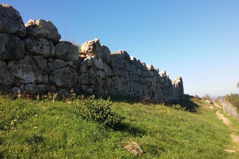 Roselle e le sue mura ciclopiche