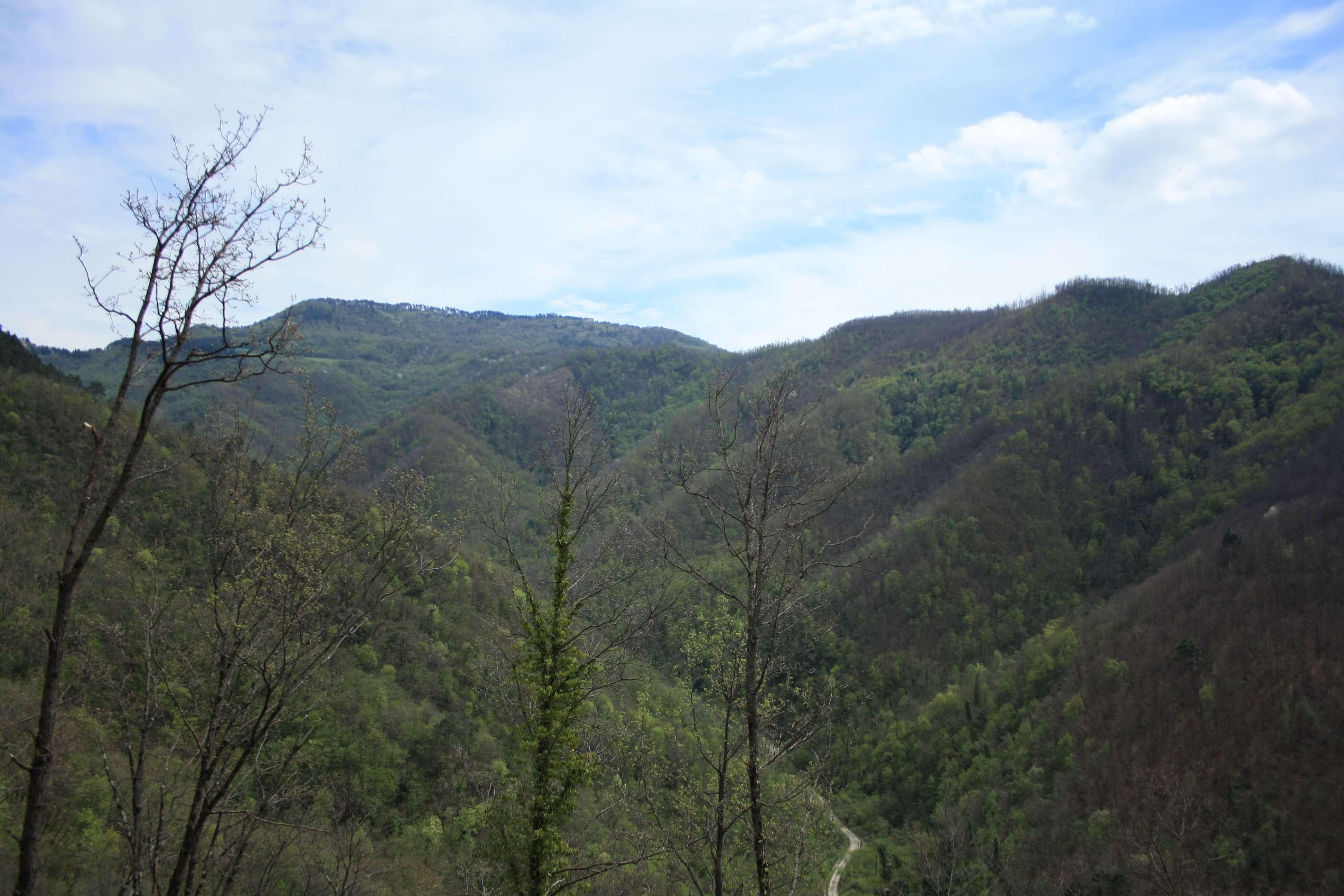 Rocca Cerbaia, il panorama