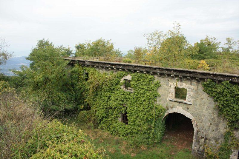 Sulle tracce della Linea Gotica: Forte Bastione