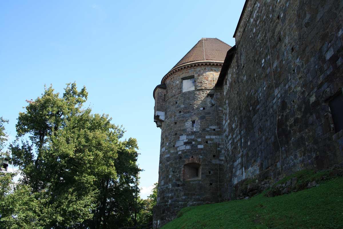 Lubiana e il suo castello