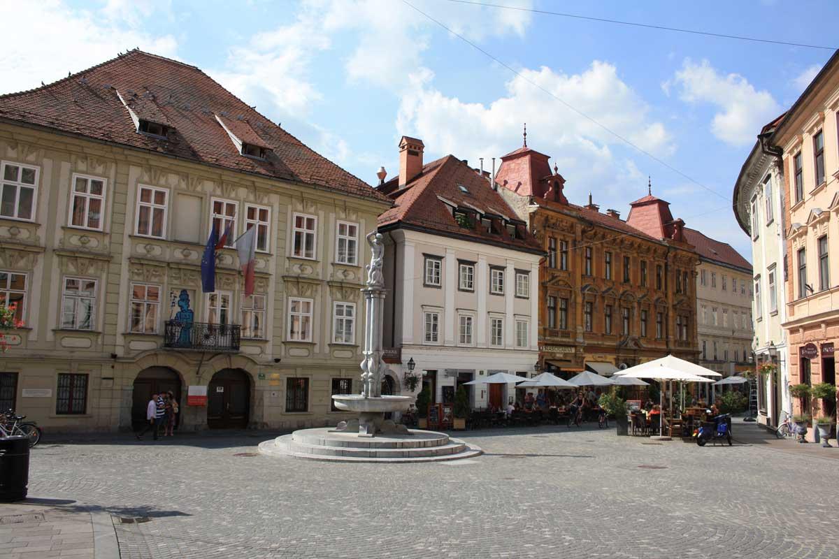 Lubiana, il centro storico