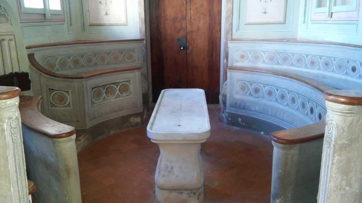 Pistoia, l'anfiteatro medico