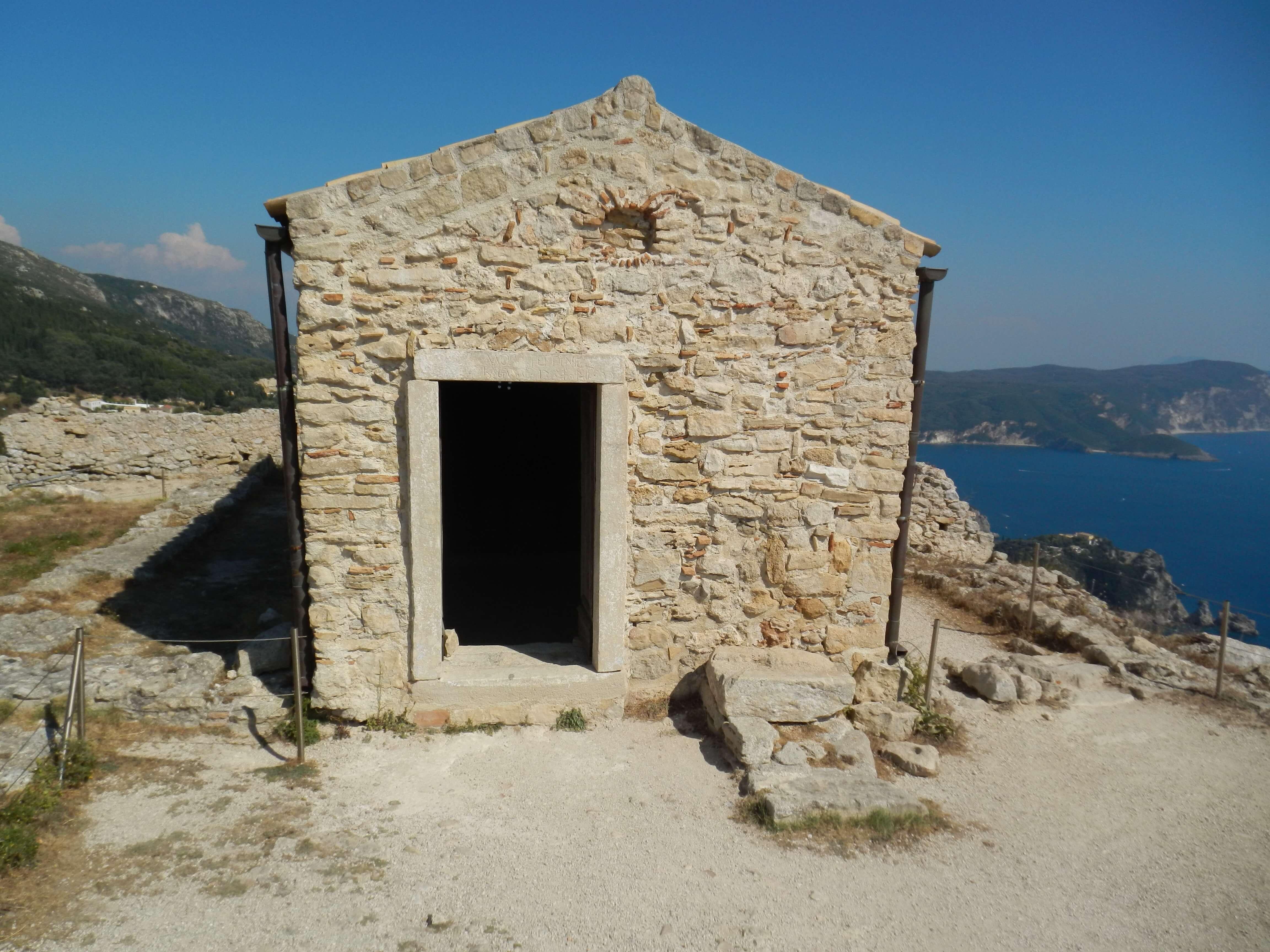 Corfu panorama mare