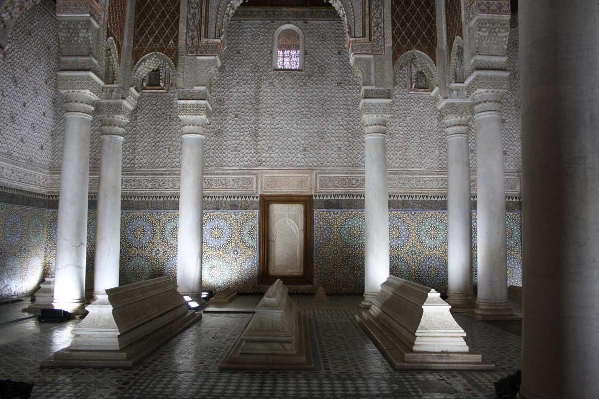 Marrakech, Tombe dei Saaditi