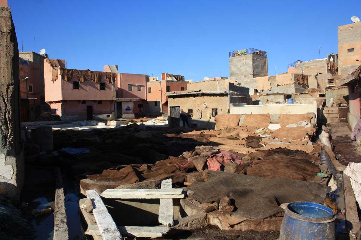 Marrakech, concerie