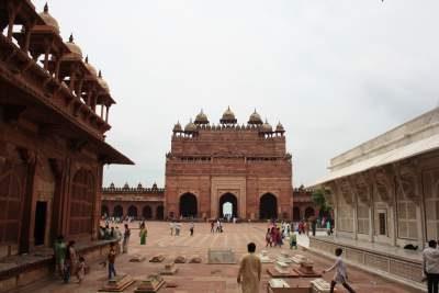 La città abbandonata  di Fatehpur Sikri