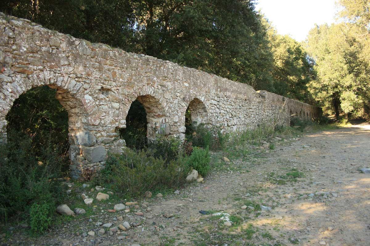 Eremo di Malavalle, l'acquedotto
