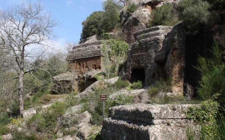 Norchia Antica: esploratori per un giorno