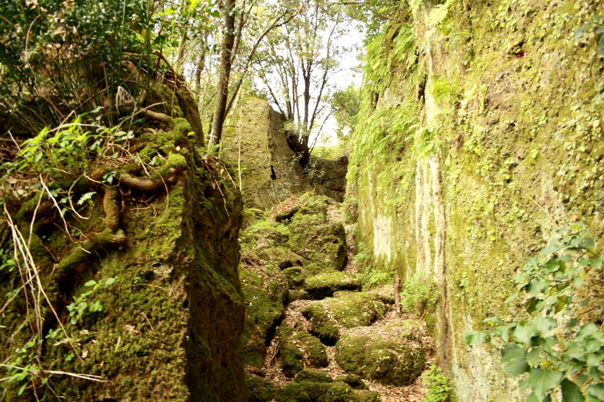 Norchia Antica, cava Buia
