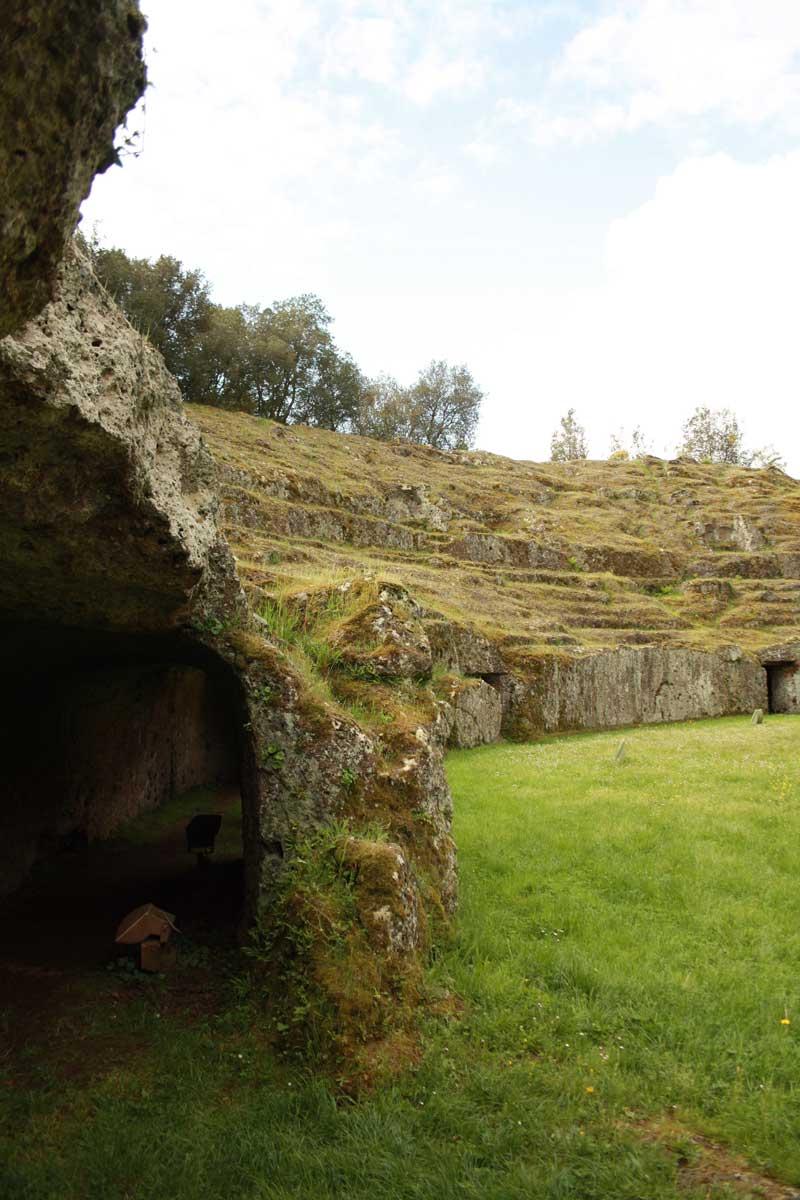 Sutri, anfiteatro