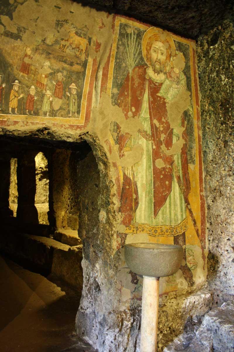 Tuscia explorer: tre giorni alla scoperta della Tuscia, Tempio di Mitra a Sutri