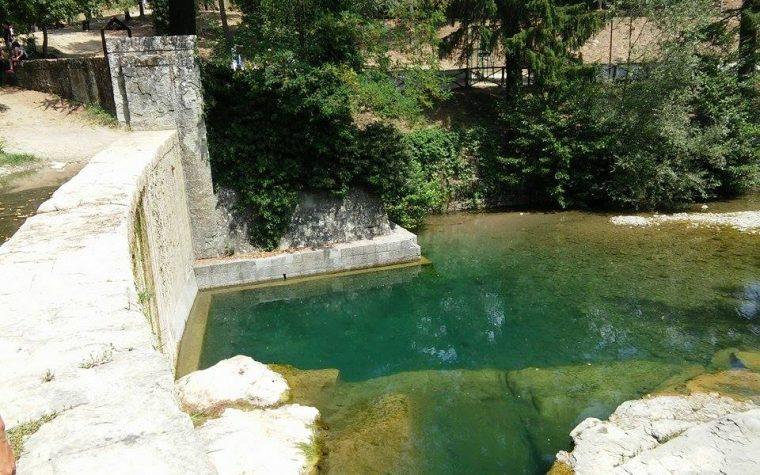 Stia: un bagno dell'Arno