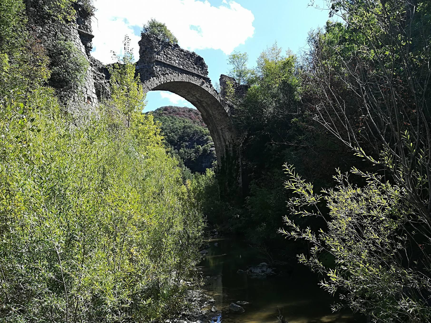 Escursione sulle traccie dell'antica ferrovia sul Ritasso