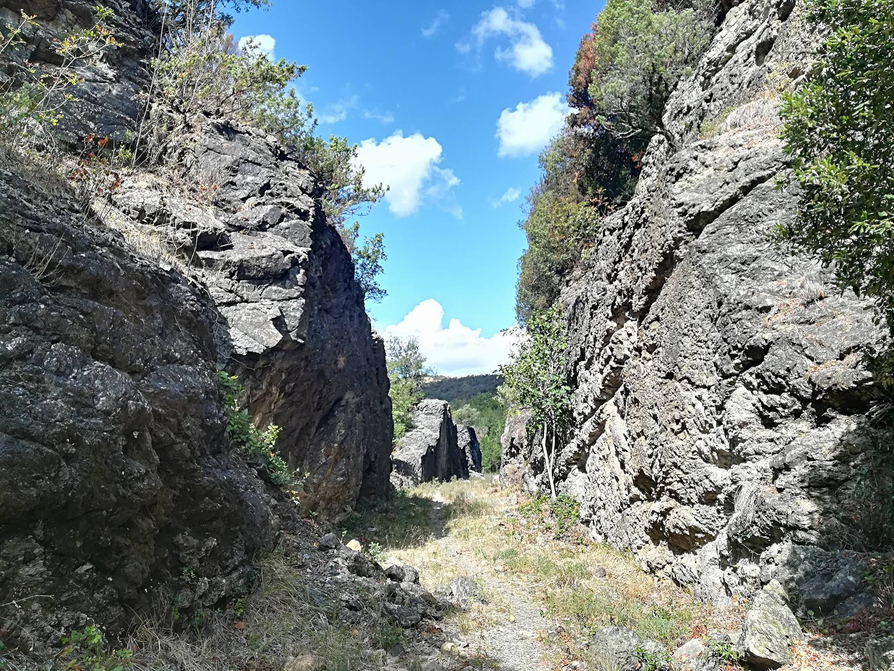 Antica ferrovia sul Ritasso