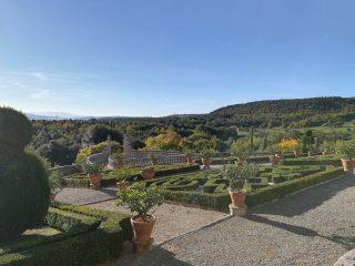 Castel di Celsa, il giardino all'italiana