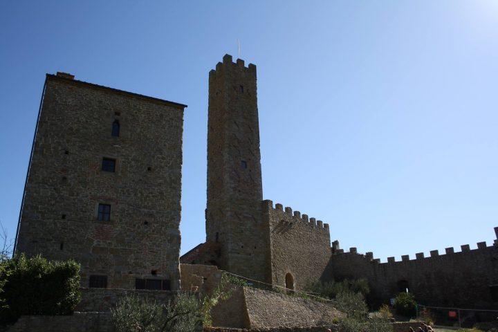 Il castello di Montecchio Vesponi