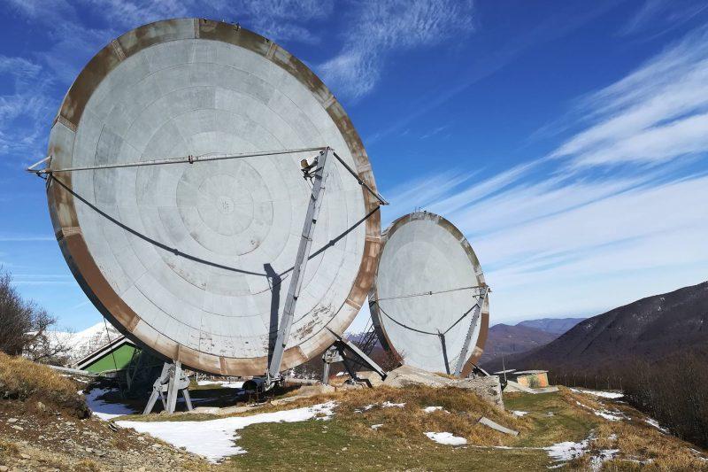 La ex-base NATO sul Monte Giogo