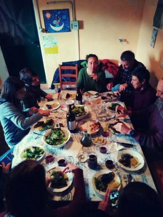 Calci: passione e tradizioni, pranzo a base di erbe selvatiche