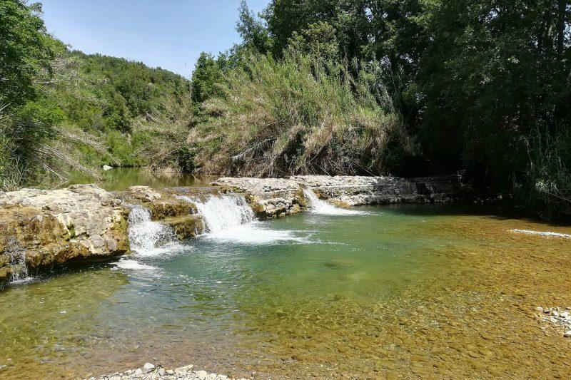 Il fiume Cornia e il Pozzo della Serraiola