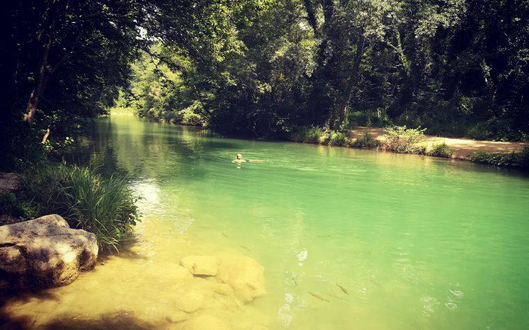 Le acque pure e fresche del fiume Merse