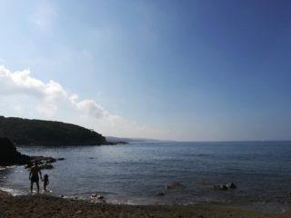La spiaggia di Castel Sonnino