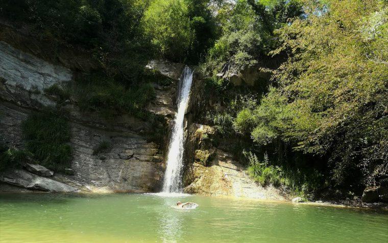 La Cascata di Civorio, l'Eden romagnolo