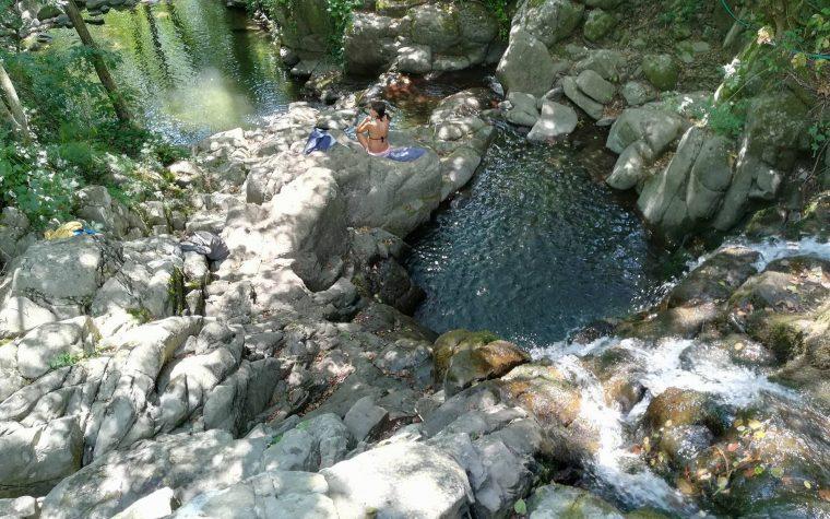 Le piscine naturali del Ciuffenna