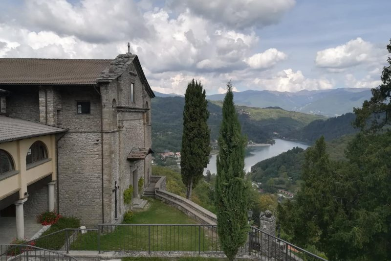 L'antica chiesa castello di Gorfigliano