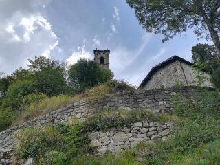 L'antica chiesa di Gorfigliano