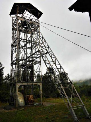 Il villaggio minerario di Siele